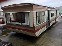 Cosalt monaco 30x10 2 bedroom static caravan storage space mobile home temporary