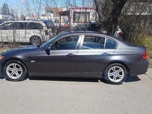 2008 BMW 3 Series 328xi AWD P.leather Heated Seats,P.Sunroof,Cer