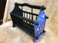 This used to be a magazine rack but now it can be anything you want it to be,