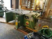 Wadkin panel saw