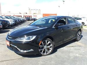 2016 Chrysler 200 C**LEATHER**SUNROOF**8.4 TOUCHCREEN**NAVIGATIO