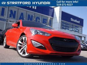 2016 Hyundai Genesis Coupe 3.8 R-Spec | NO ACCIDENTS | 1 OWNER |