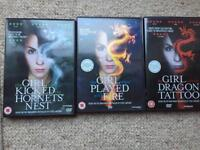 girl with the dragon tattoo trilogy dvd