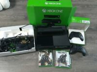 XBOX ONE KINECT WITH 2 GAMES