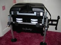 fishing seat box with five draws new