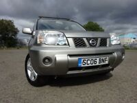 06 NISSAN X-TRAIL SE DCI 2.2 DIESEL 4X4,MOT MARCH 019,2 OWNERS,2 KEYS,PART HISTORY,GREAT WORK-HORSE