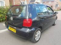 VW POLO, 1.4,82K ,LONG MOT ,SERVICE HISTORY, CHEAP ON TAX ,TIDY ,BIG BOOT,£595 ONO