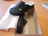 Italian Anatomic Ladies Navy Comfort Shoes Size 5