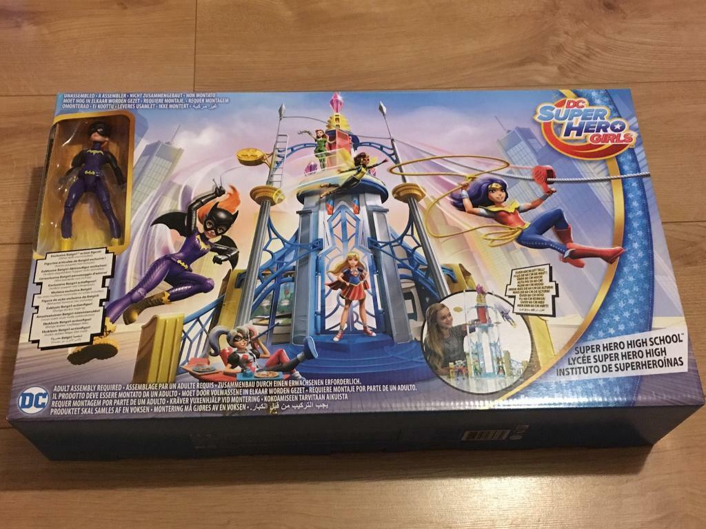 Dc Superhero Girls Superhero High School Brand New In