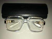 Cazal 607 Glasses Clear Frame