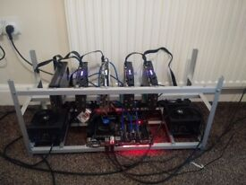 4*Gpu, Mining rig, 110 mhs, 12£/Mhs, If you pay with crypto until nov 30 its cheaper.