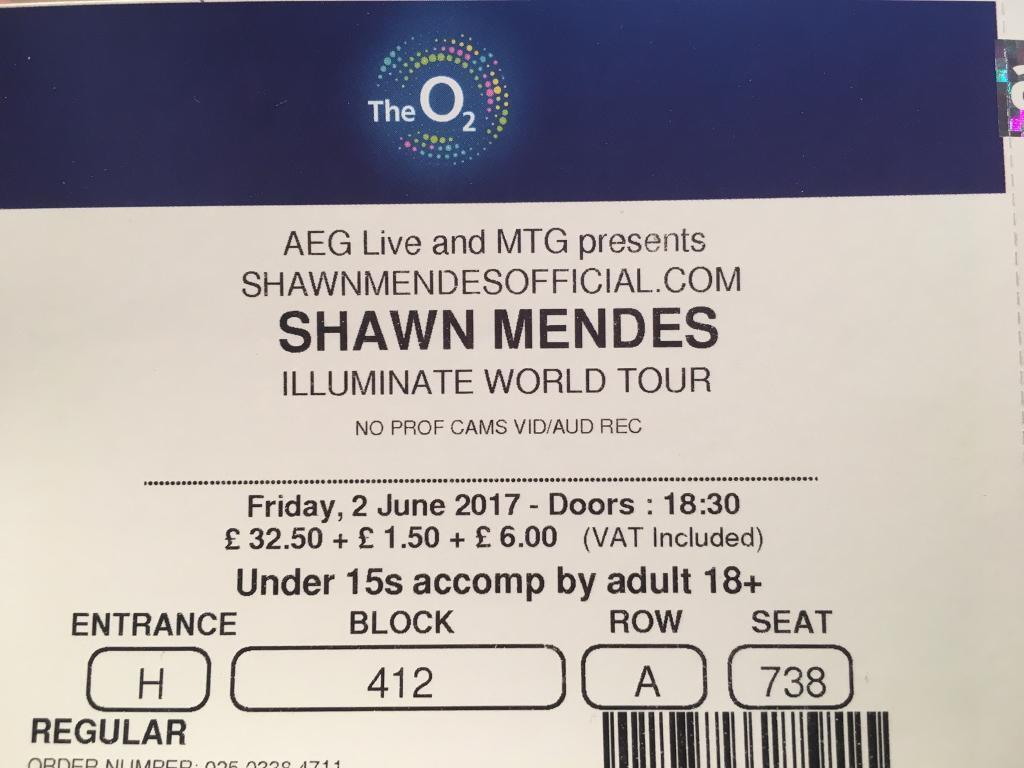 Shawn Mendes Köln Tickets