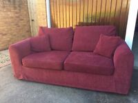 Sofa Bed - Double Size, Excellent Condition, Very Comfortable, Relyon Matrress
