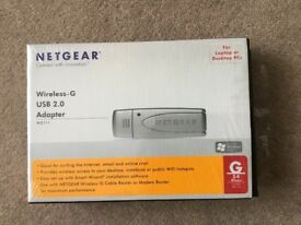 Netgear Wireless - G USB 2.0 Adapter