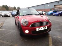 MINI CONVERTIBLE 1.6 One 2dr [Pepper Pack] (red) 2014