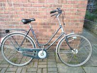 Gazelle Impala dutch bike step through wicker- basket bracket ready