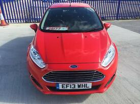 FORD FIESTA 1.5 5DR DIESEL ONLY 17000 MILEAGE £0 ROAD TAX