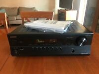 Onkyo HT-R380 5.1 Channel AV Home Cinema Amplifier/Receiver, Spares or Repairs