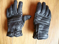 'Buffalo' Leather Motorcycle Gloves - Size XS Good condition