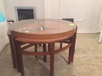 Nathan furniture nest of tables