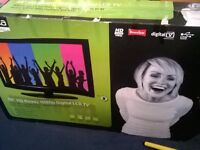 """Theknika 46"""" HD ready LCD TV with Freeview"""