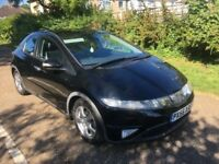 HONDA CIVIC 1,8 PETROL ,6 SPEED MANUAL DRIVES PERFECT
