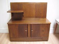Lovely Art Deco Hall Bench / Table / Cupboard from the 1930s - Excellent Original Condition