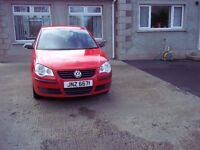 2007 vw polo 1.2 ideal first car £1475.