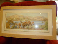 Lake district watercolour print