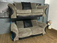 HARVEYS FABRIC SOFA SET IN EXCELLENT CONDITION 3+2 seater