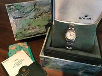 Women's Rolex oyster perpetual DATE watch