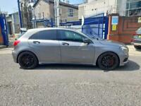 2013 63reg Mercedes A45 2.0 Turbo 400Bhp Grey Pan Roof cheapest around
