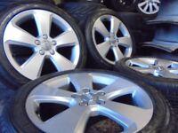 17inch genuine tt alloys wheels audi a4 a3 5x112 golf vw caddy t4 t3 camper mk6