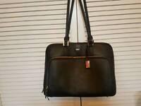 Paul costelloe leather handbag/laptop bag
