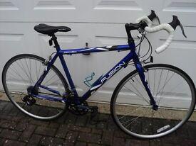 Apollo Fusion Road bike in blue