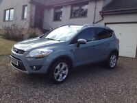 2010 Ford Kuga 2.0 TDci Titanium 4x4 5 Door with Fitted Towbar (£500 under mile adj valuation)