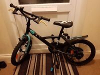 16 inch boys bike - AS NEW CONDITION