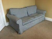 IKEA Sriped Sofa Bed