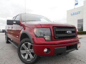 2014 Ford F-150 FX4 SuperCrew 3.5L V6 EcoBoost long box