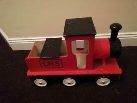 Vintage Retro Wooden Train
