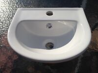 Small Ceramic Hand Basin / Sink - Unused