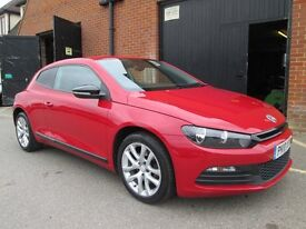 2010 VOLKSWAGEN SCIROCCO 1.4 TSI IMMACULATE BLUETOOTH PHONE KIT Part exchange available / All cards