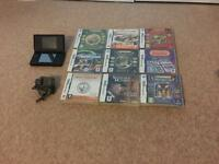 Nintendo DS lite & 9 games