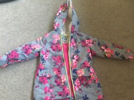 Joules kids coat age 7. Only worn a couple of times.