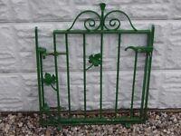 Wrought iron gate / Garden gate / Metal gate / Steel gate / Galvanised gate / Ponds / Patio / Deckin