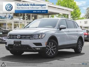 2018 TIGUAN 2.0TSI COMFORTLINE 8-SPEED AUTOMATIC 4MOTION