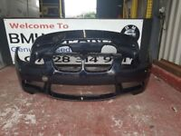 BMW M3 E92 COUPE GENIUNE FRONT/REAR BUMPER 07-12 IN GOOD CONDITION