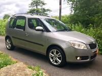Skoda Roomster 3 1.9 TDI with 10 Service Stamps + Warranty + AA