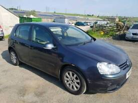 2005 VOLKSWAGON GOLF 1.9 TDI 5 DOOR HATCHBACK BLUE 11 MONTHS M.O.T