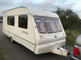 Bailey Ranger 510-4 Four Birth, End Bath/Dress Room with Walk-In Shower and Swivel Toilet